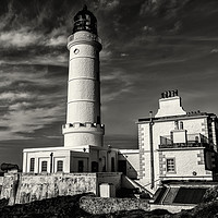 Buy canvas prints of Corsewall Lighthouse by John Hastings