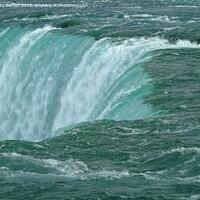 Buy canvas prints of Where The Niagara Falls by Gary Barratt