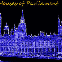 Buy canvas prints of Houses of Parliament by Fine art prints by Rina