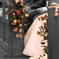 Buy canvas prints of Wedding Bouquet by Kevin Warner