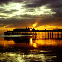 Buy canvas prints of Hastings Pier by Maggie  Mccall