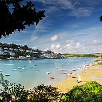 Buy canvas prints of Salcombe Estuary, South Devon by Maggie Mccall