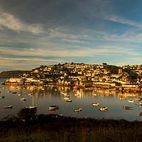 Buy canvas prints of  Sunrise, Salcombe Estuary Devon  by Maggie Mccall