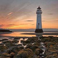 Buy canvas prints of New Brighton Sunset by raymond mcbride