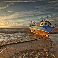 Buy canvas prints of MEOLS BEACH (Grounded) by raymond mcbride