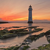 Buy canvas prints of PERCH ROCK LIGHTHOUSE by raymond mcbride
