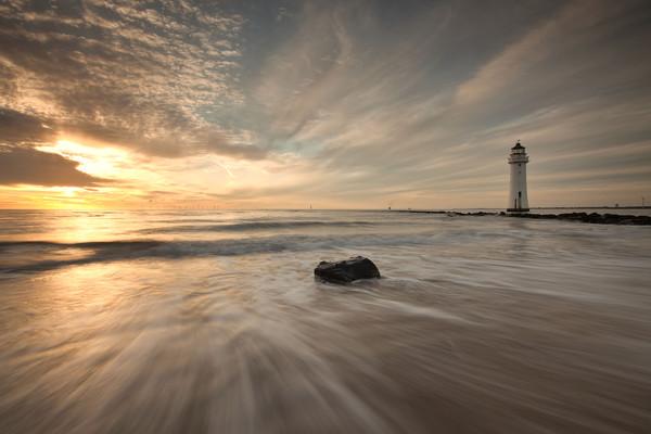 SEA MIMICS THE SKY Canvas print by raymond mcbride