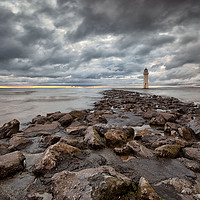 Buy canvas prints of LIGHTHOUSE ( Perch Rock ) by raymond mcbride