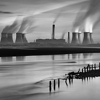 Buy canvas prints of Fiddlers Ferry Power Station by raymond mcbride