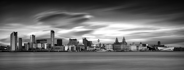 """Liverpool Waterfront"" Canvas print by raymond mcbride"