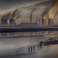 "Buy canvas prints of  ""Industrial Sunrise"" by raymond mcbride"
