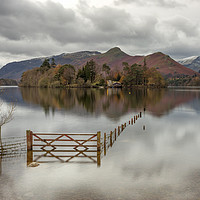 Buy canvas prints of The Gate Derwentwater by raymond mcbride