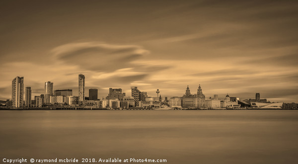 Liverpool Waterfront Canvas print by raymond mcbride