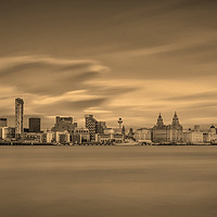 Buy canvas prints of Liverpool Waterfront by raymond mcbride