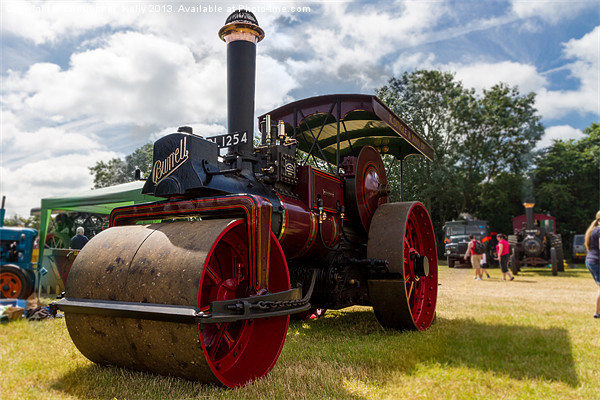 Steam Roller Canvas print by Christopher  Kelly