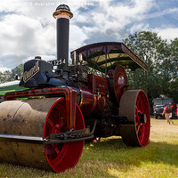 Buy canvas prints of Steam Roller by Christopher  Kelly