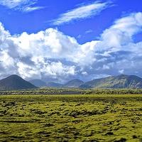 Buy canvas prints of  Revkiavik Iceland Landscarpe by Sue Bottomley