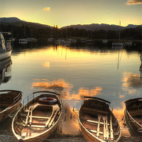Buy canvas prints of Boats on Windermere by John Kay