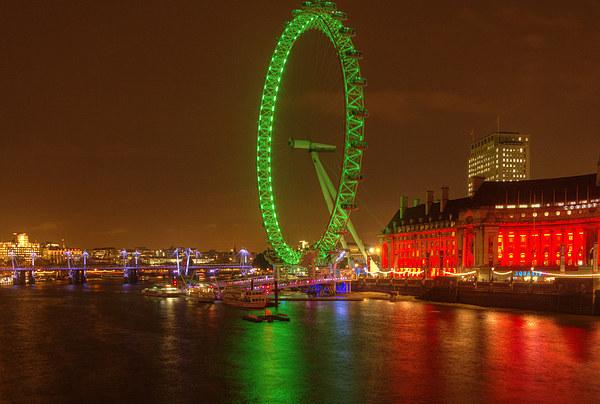 London Eye Canvas print by John Kay