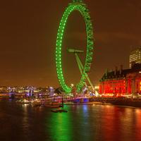 Buy canvas prints of London Eye by John Kay