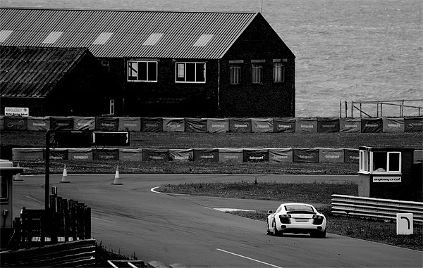 Anglesey Track Day Round 2 Print by Roger Cruickshank