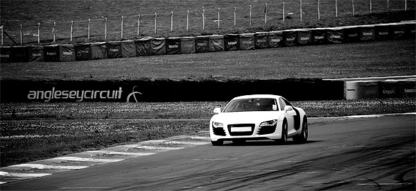 Anglesey Track Day Print by Roger Cruickshank