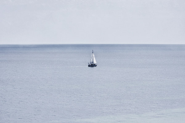 Sail Away Canvas print by Zoe Ferrie