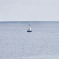 Buy canvas prints of Sail Away by Zoe Ferrie