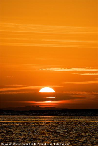 Sharm Sunrise 7 Canvas print by Brian  Raggatt