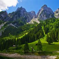 Buy canvas prints of Alpine majesty by Jim Jones