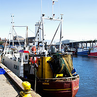Buy canvas prints of North Shields Fish Quay by Jim Jones