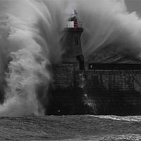 Buy canvas prints of A bit of a breeze! by Jim Jones