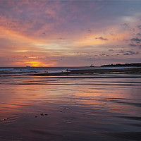 Buy canvas prints of Paw marks in the sand by Jim Jones