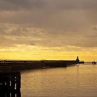 Buy canvas prints of February sunrise on the River Blyth by Jim Jones