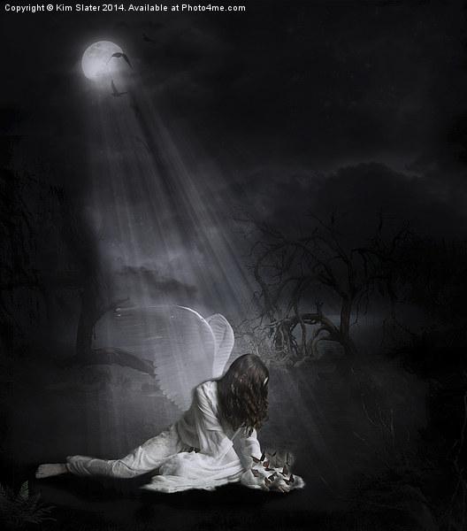 Fallen from Grace Canvas print by Kim Slater