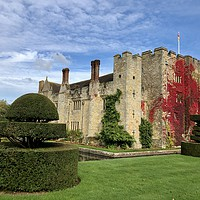 Buy canvas prints of Autumn at the Castle by Kim Slater