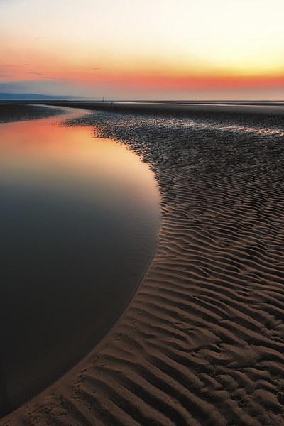 Seascape Sunset Canvas print by Adrian Evans