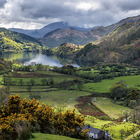 Buy canvas prints of Nant Gwynant Valley by Adrian Evans