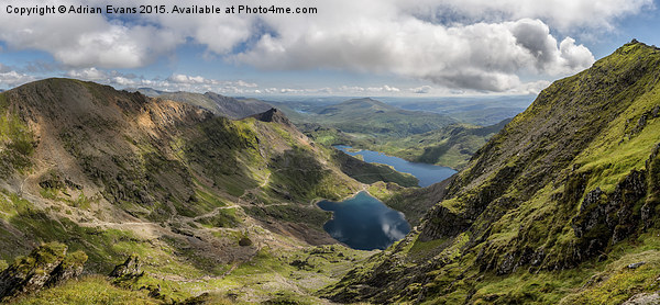 Snowdon Summit Canvas print by Adrian Evans