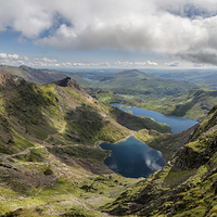 Buy canvas prints of Snowdon Summit by Adrian Evans