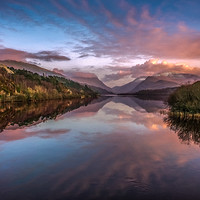 Buy canvas prints of Snowdon Sunset by Adrian Evans