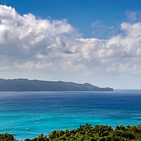 Buy canvas prints of Boracay Bay Philippines by Adrian Evans