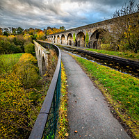 Buy canvas prints of Chirk Aqueduct Wales by Adrian Evans