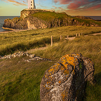 Buy canvas prints of Llanddwyn Tower Anglesey Wales by Adrian Evans