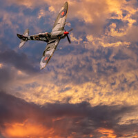 Buy canvas prints of Supermarine Spitfire by Adrian Evans