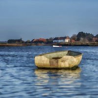 Buy canvas prints of Burnham Overy Staithe Norfolk by Gary Pearson