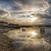 Buy canvas prints of Reflections - Burnham Overy Staithe by Gary Pearson