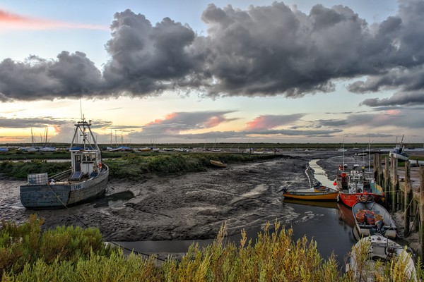 Brancaster Staithe harbour     Canvas print by Gary Pearson