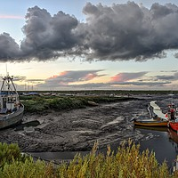 Buy canvas prints of Brancaster Staithe harbour     by Gary Pearson