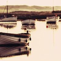 Buy canvas prints of Early morning at Burnham Overy Staithe  by Gary Pearson